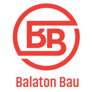 Balaton Bau logo fehér